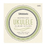 D'Addario EJ65S Pro-Arte Custom Extruded Nylon Ukulele Strings, Soprano