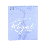 D'addario RJB1025 Rico Royal Alto Sax Reeds #2.5 - Single Reed