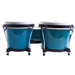 2100BB Toca Synergy Wood Bongos, Blue