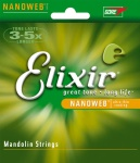 Elixir 11525 Nanoweb Mandolin Strings - Medium