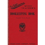 Williams Music Teacher's Bookkeeping Book