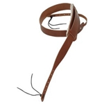 "Levy's PM13NP-BRN 1.75"" Carving Leather Banjo Strap"