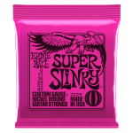 749699122234 Ernie Ball Super Slinky Nickel Wound Electric Guitar Strings - 9-42 Gauge