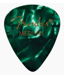 Fender 1980351871 12 Medium Picks Green