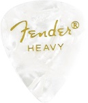 Fender 0980351980 12 Heavy Picks White