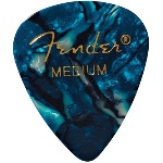 Fender 1980351808 12 Medium Picks Turquoise