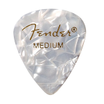 Fender 1980351805 12 Medium Picks White