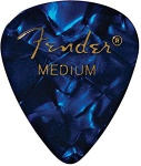 Fender 1980351802 12 Medium Picks Blue