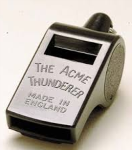 Misc  Acme 60.5 Thunderer Referee Whistle
