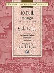 10 Folk Songs for Solo Voice Medium High