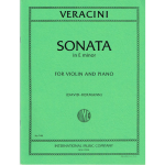 Veracini Sonata in Emin for Violin and Piano