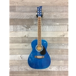 Jay Turser Jay Jr 3/4 Acoustic Guitar - Blue