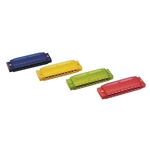 Hohner Clearly Colorful Harmonica