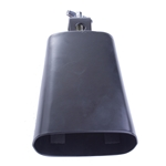 "Misc UPCB5 UPC 5"" Black Cowbell"