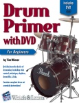 Watch & Learn Drum Primer w/CD/DVD