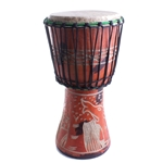 Hand-Made African Djembe, Medium