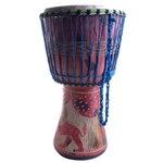 Hand-Made African Djembe, Large