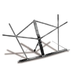 Hamilton KB400N Folding Music Stand - Nickel