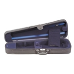Misc TC10044 Toshira TC100 Dlx 4/4 Violin Case - Blue Int.