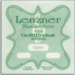 Lenzner 600E-B-44 Goldbrokat 600E - 4/4 Violin E string - Ball End