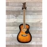 Jay Turser JJ43 Flame Top - Sunburst