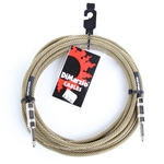 Dimarzio Braided Cable - Tweed - 18'