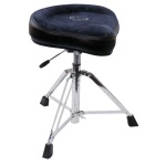 NITRO-BLACK Roc-N-Soc Nitro Drum Throne - Black