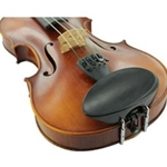 General Brand 1120FE-12 Flesch Chin Rest - Ebony - 1/2 Violin