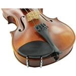 General Brand 1125E_12 Kaufman Chinrest - 1/2 Violin - Ebony