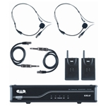 CAD Audio  GXLUBBL CAD 2 Headset2 Guitar Bodypack  Wireless System