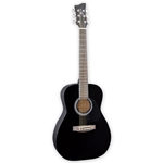 Jay Turser Jay Jr 3/4 Acoustic Guitar - black