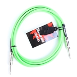 EP1710SSGN DiMarzio Braided Instrument Cable, Green