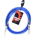 DiMarzio Braided Instrument Cable, E Blue