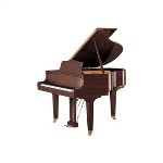 GB1K-PAW Yamaha GB1K 5' Baby Grand Piano w/Bench - Polished Walnut