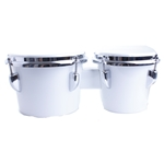 Peace ABS Bongos, White