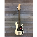 0370500505 Squier Affinity PJ Bass - White