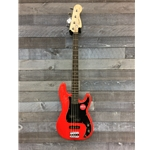 Squier Affinity PJ Bass - Red