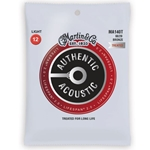 Martin Guitars  Martin MA140T Lifespan 2.0 80/20 Bronze Light Authentic Acoustic Guitar Strings