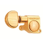 502G Grover 3x3 Rotomatic Locking Tuners - Gold