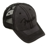 9106644000 Fender Blackout Trucker Cap