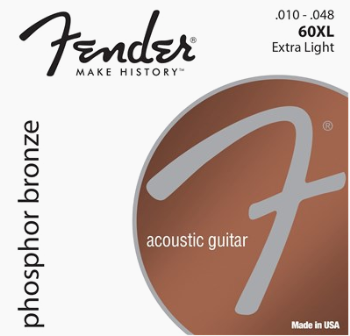 Fender 60XL Extra Light Acoustic