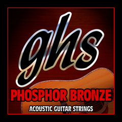 GHS S315 Phosphor Bronze acoustic Extra light