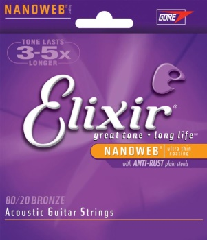 11102 Elixir Nanoweb Acoustic Medium