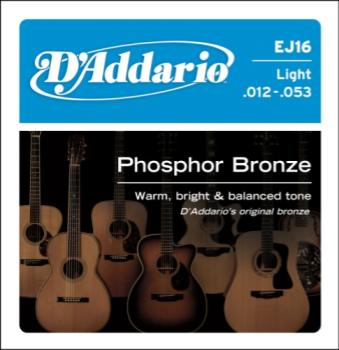 D'addario EJ16 Acoustic Light