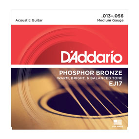 D'addario EJ17 Acoustic Medium