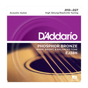 D'addario EJ38 12 String Light