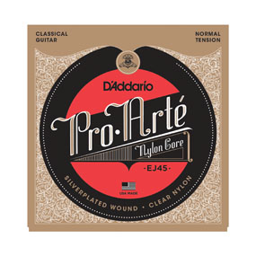 D'Addario EJ45 Pro-Arte Normal Tension Nylon Guitar Strings