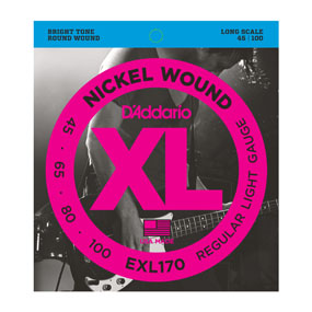 D'Addario EXL170 Nickel Wound Bass