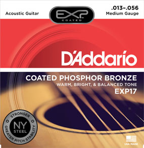 D'Addario EXP17 Medium Gauge