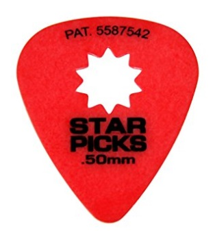 Everly 30021 Star Picks 12 PackRed